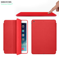 Hot Brand New Official Design PU Leather Smart Auto Sleep Wake Up Case For IPad Air