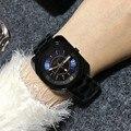 4 Colores de Las Mujeres de Acero Inoxidable Relojes Señora de Lujo Relojes de pulsera de Señora Reloj de Vestir Hombres Mujeres Plaza QuartzWatches Relojes GUOU8156