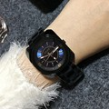 4 Colors Women Stainless Steel Watches Lady Luxury Wristwatches Lady Dress Watch Men Women Square QuartzWatches Clocks GUOU8156