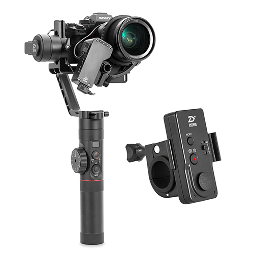 Zhiyun Official Crane 2 3 Axis Camera Stabilizer For All Models Of Dslr Mirrorless Camera Canon 5d234 With Servo Follow Focus