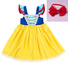 New Snow White Dress European and American Girls Childrens Wear Stage Performance Halloween
