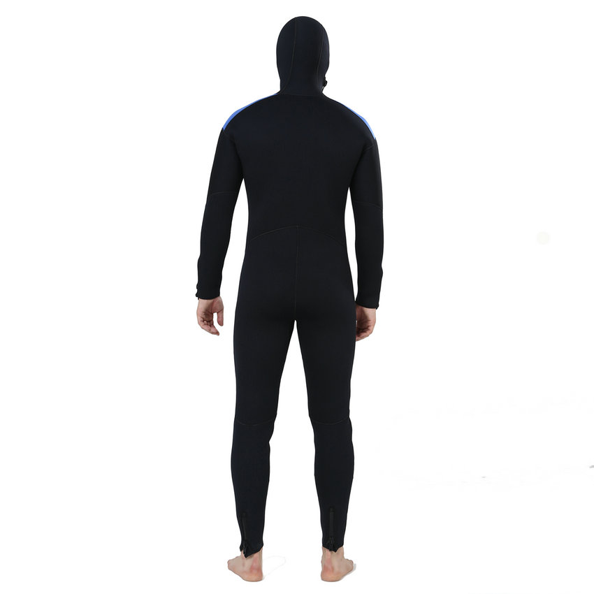 Realon Spearfishing 5MM Neoprene Wetsuit Men with Hoodies Scuba - Sportswear and Accessories - Photo 5