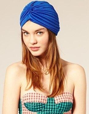 En gros 10 pcs/lot Nouvelle Arrivée Femmes Vintage Turban Cap Mode Musulman  Capuchon Serviette Chapeau Étoile D\u0027europe Skullies dans Skullies \u0026 Bonnets  de