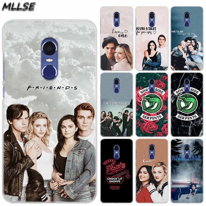MLLSE Riverdale South Side Serpents Fashion Clear Case Cover for Xiaomi Play Rdemi S2 3S 4A 5A 5Plus 6A Pro Note 6 5A 4X 4 7 Hot