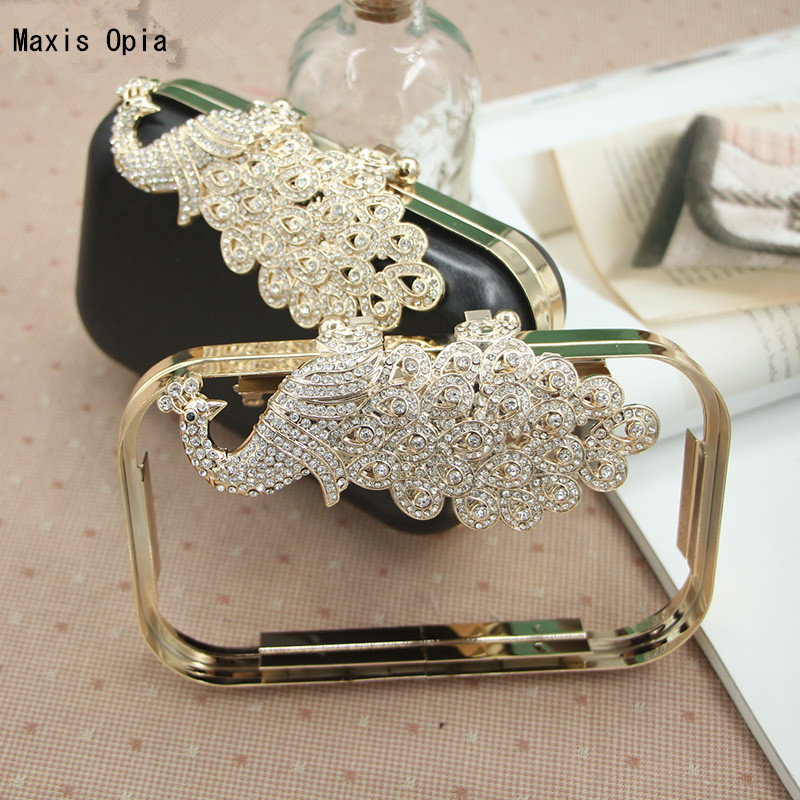 retangle Shape Size 18X10 cm Fashion Nice Metal Purse Frame With Plastic Box Clutch Kiss Lock Parts Luggage Obag Purse Frame 220909 school gifts boxes pupil men multifunctional creative disney child pencil box primary school student page 8