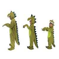 Animal Dinosaur Costumes For Children Halloween Party Cartoon Character Costume Bbay Boys Girls 3D Dinosaur Onesies Pyjamas Kids