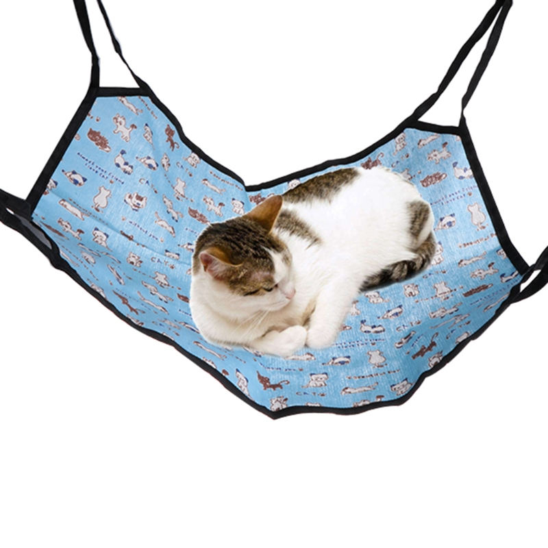 2017 New Pet Cat Cage Hammock Small Dog Bed Cover Bag Blankets Mat