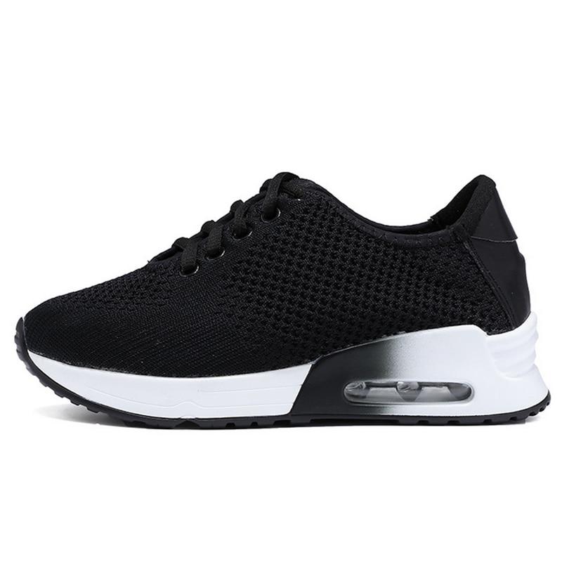 2017 New Air Mesh Sports Shoes Women's Cushion Running Shoes Outdoor Walking Sneakers Jogging Shoes 887