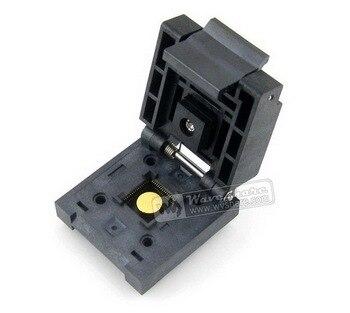 Free Shipping QFN-64BT-0.5-01 Enplas IC Burn-in Test Socket Adapter 0.5mm Pitch QFN64 MLP64 MLF64 Package