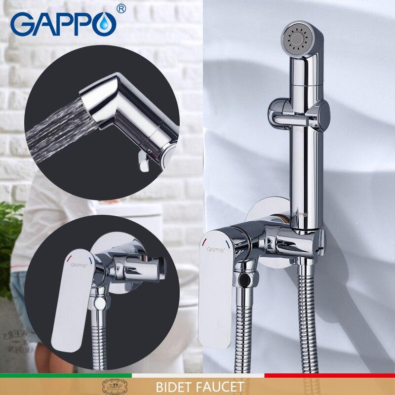 GAPPO Bidet Faucet Brass Toilet shower muslim shower mixer Tap bathroom muslim tap mixers bidet toilet spray shattaf muslim