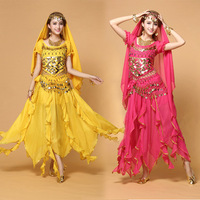 Plus Size Belly Dancing Costumes Female Indian Dance Clothes Sexy Women Belli Dancer Wear Dance Set