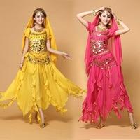 Plus Size Belly Dance Costume Female Indian Dance Dress Sexy Women Bollydancer Wear Bollywood Dance Set Oriental Clothing 16