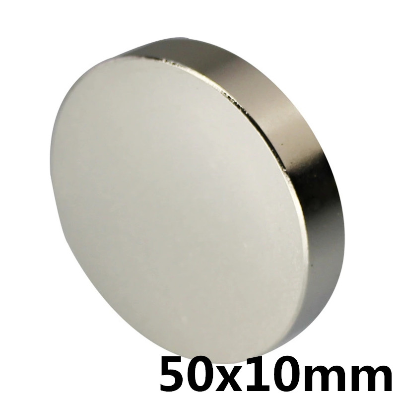 1pcs  50mm x 10mm strong disc magnets 50x10 neodymium magnets 50* 10 Art Nouveau connection magnets NdFeB magnets1pcs  50mm x 10mm strong disc magnets 50x10 neodymium magnets 50* 10 Art Nouveau connection magnets NdFeB magnets