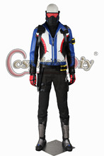 Cosplaydiy Hot Game Soldier 76 Cosplay Costume Adult Men Costumes Halloween Carnival Cosplay Outfit Custom Made