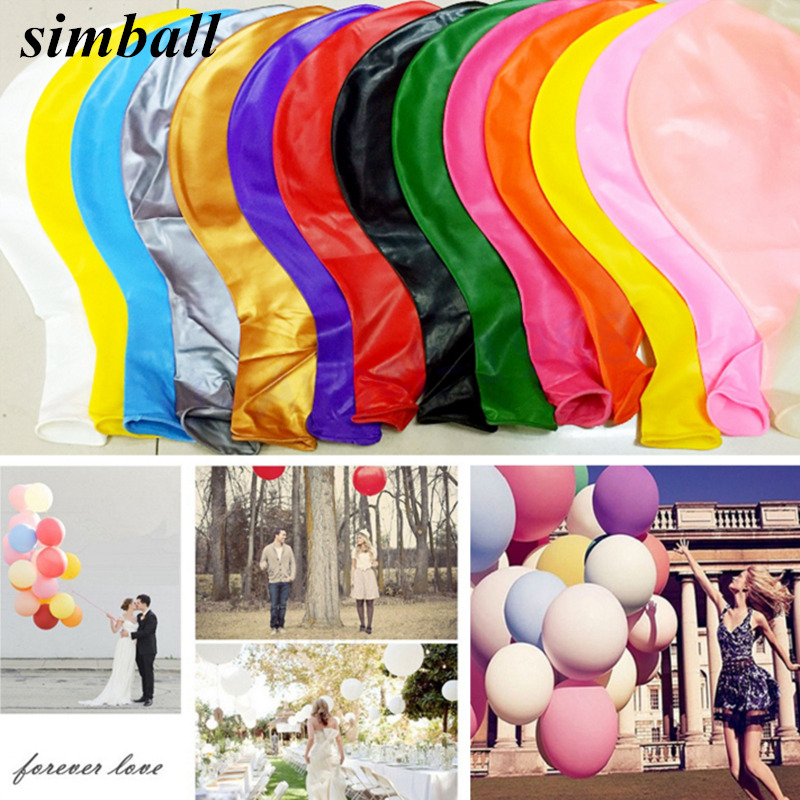 1pcs 36 Inch Balloon Ball Helium Inflable Big Latex Balloons For Birthday Wedding Party Decoration Balloons Kids Helium Balloons 自宅 ワイン セラー