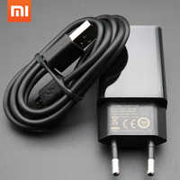 Original Xiaomi Charger for xiaomi 4 3 2 NOTE4 X MAX redmi pro 1S 2S 3 3S 3X NOTE 3 4 4A 4X 5,EU 5V 2A Adapter + Micro USB Cable