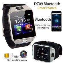 Bluetooth Smart Часы SmartWatch dz09 Android Телефонный звонок Relogio 2 г/м² sim-карта TF Камера для iphone Samsung Huawei pk gt08 A1