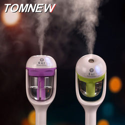 TOMNEW 50ml Car Diffuser Humidifier Portable Mini Aromatherapy Air Freshener Purifier Aroma Essential Oil Diffuser for Car