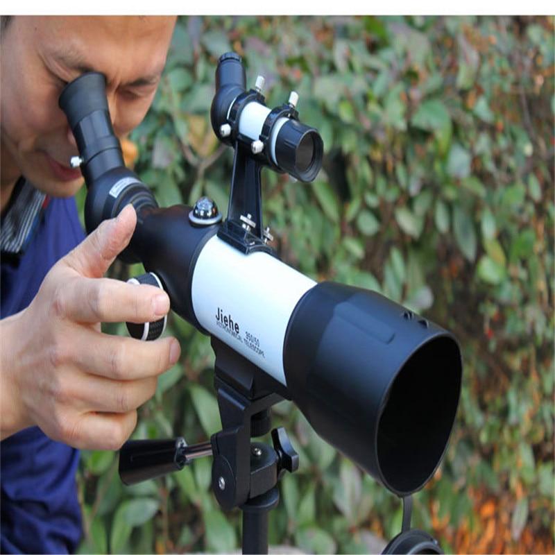 JIEHE CF35060 Monocular Refractor Space Astronomical Telescope Spotting Scope Saturn Ring Jupiter Moon Scope 100 Guarantee in Monocular Binoculars from Sports Entertainment