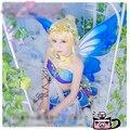 Amor Ao Vivo! todos os membros despertar espírito fada flor yazawa nico minami kotori cosplay halloween costume dress + asas + ouvidos