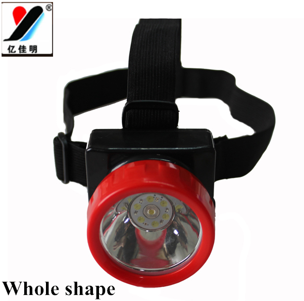 Miner Gift YJM-4625 Led Head Lamp 18650 Batteries 1W Waterproof And Explosion-proof With Car Charger/Wall Charger/Head Tape