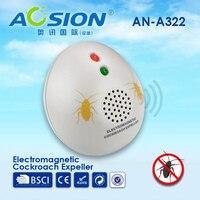 2 X barata repeller AOSION Interior ondas eletromagnéticas para perseguir formigas repelir insetos spiders pulgas pest repeller