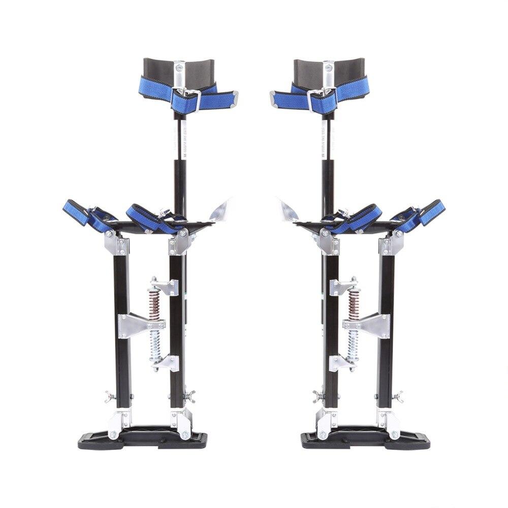 24-40 inch Drywall Stilt Plastering Stilt Ladder Adjustable Aluminum Painting Stilt Construction Tools