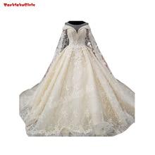 65656 White Wedding Dress Beading Crystal Bridal Gown