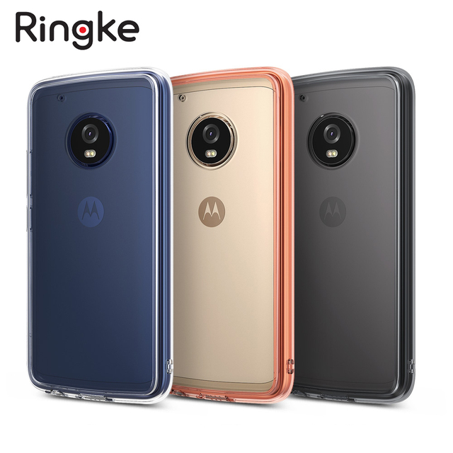 outlet store 8e8f3 26a87 US $13.99 |Ringke Fusion Case for Moto G5 Plus Capa with Hard Crystal Clear  PC Back Panel Soft TPU Frame Drop Protection Hybrid Cases-in Fitted Cases  ...