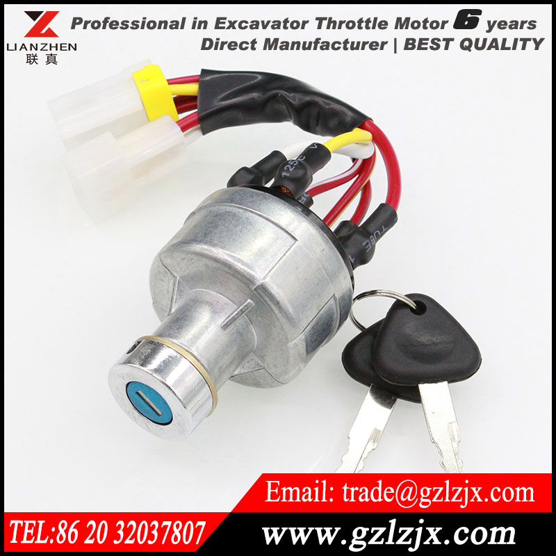 ФОТО Engine parts racing ignition switch for VOLVO  excavator engine spare parts