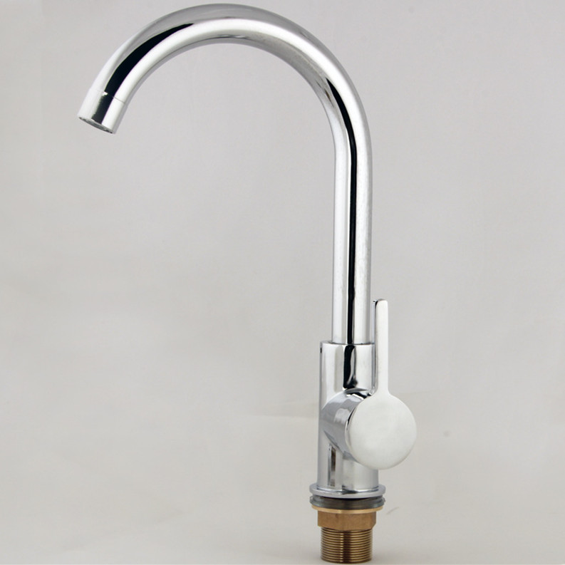 Best Kitchen Sink Faucets: Free Shipping 360 Rotation Copper Alloy Kitchen Sink