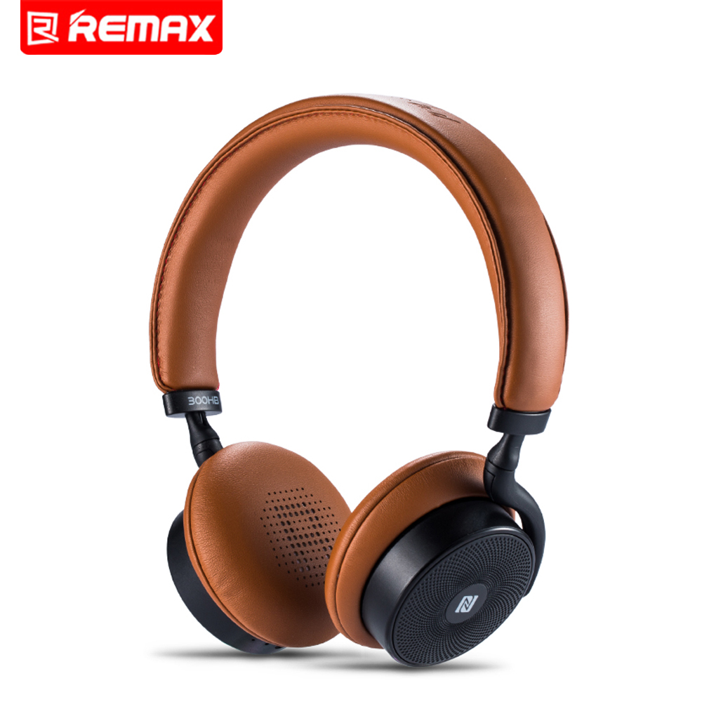 Remax RB-300HB Wireless Bluetooth Headphones Headset With Bluetooth 4.1 Stereo With Microphone For Music Wireless Headphone remax rb s6 wireless bluetooth earphone headphones with microphone sport stereo bluetooth headset for iphone android phone