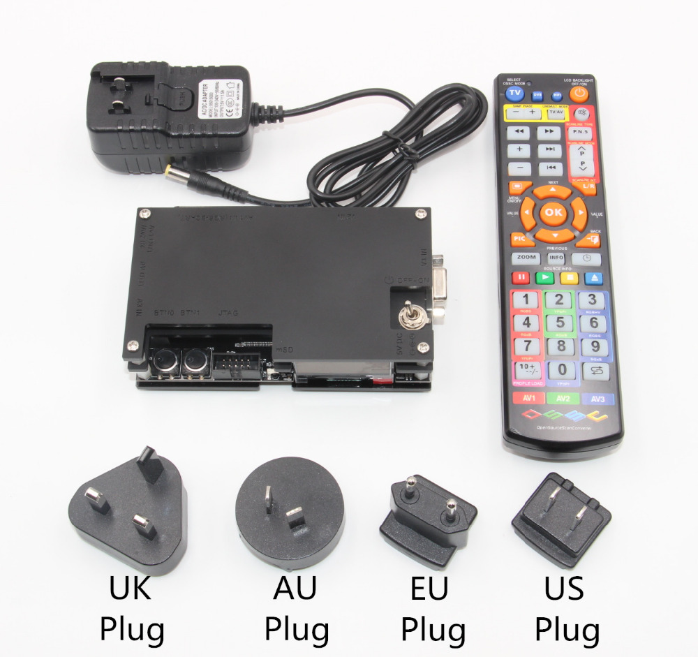 OSSC HDMI Convertisseur Kit pour Rétro Jeu Console PlayStation 1 2/Xbox un 360/Atari Série/Dreamcast /Sega Série et ainsi de suite