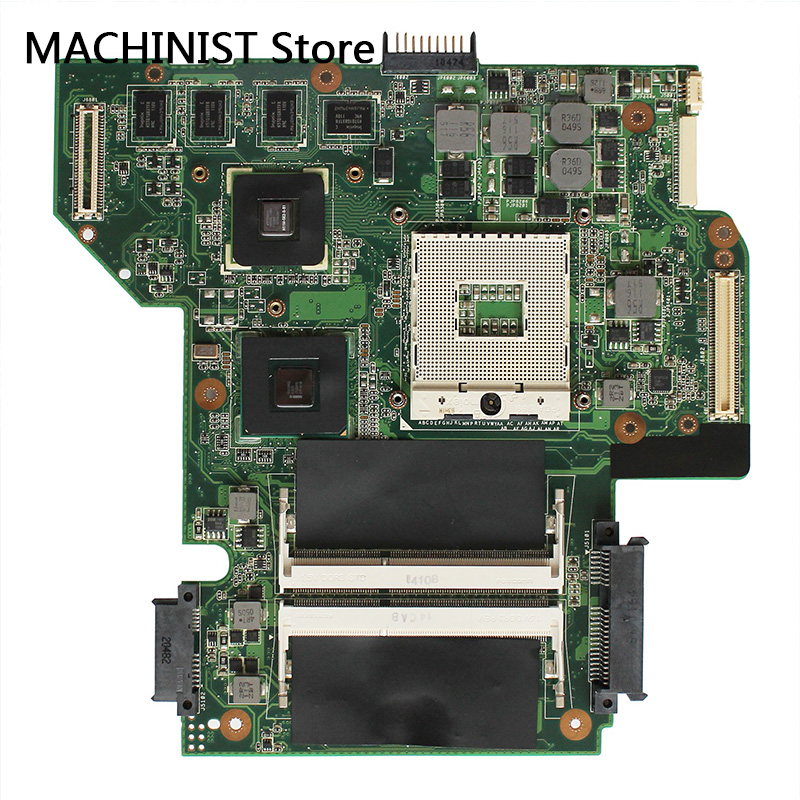 Original For ASUS U53JC U53J laptop notebook motherboard REV 3 1 HM55 DDR3 PGA989 310M 69N0HYM20A01
