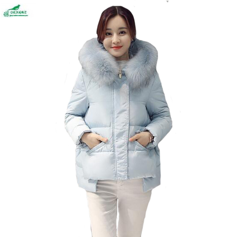 Korean winter cotton Outerwear short section female Hooded collar thick Slim coat female models fall large size clothes OKXGNZ frank buytendijk dealing with dilemmas where business analytics fall short