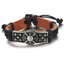 Batman Leather Bracelets (18 Designs)