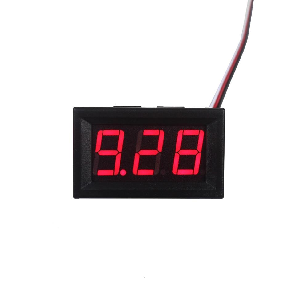 Smart Electronics Red LED Digital Voltmeter Gauge Volt Voltage Panel Meter LED Displays 4.5-30V DC Car Motor hot 7 m height smile face free shipping inflatable air dancer sky dancer for event