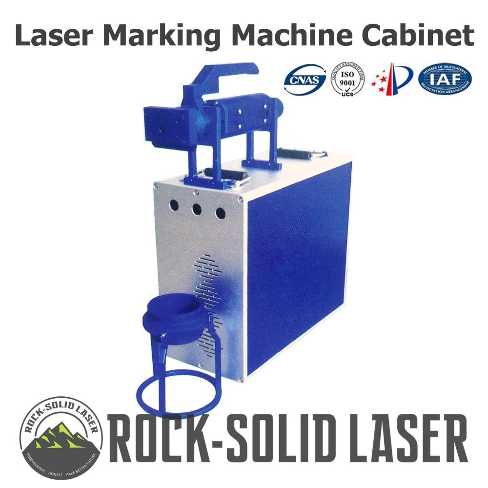 Portable Fiber Laser Marking Machine Cabinet Marker Case with Handheld Beampath 1064nm DIY Parts IPG Laser Source Wholesale