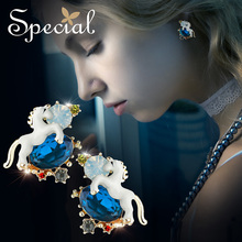 special, Europe and America s925 Tremella needle, Christmas ins, girls heart, earrings pin .stud ,
