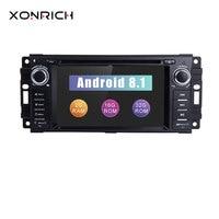 Xonrich AutoRadio2 Din Android 8.1 Car DVD Player For Chrysler 300c Jeep Grand Cherokee Compass Dodge RAM Wrangle GPS Head Unit
