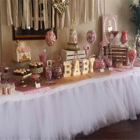 15cm 10Yard Crystal Tulle Rolls Organza Sheer Gauze Element Table Runner Tissue Spool Craft Party Wedding