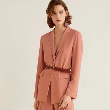 Blazer Jacket Women Fashion Runway Brand Designers Long Sleeve Coat Elegant 2019 Spring Autumn Suit Female Lady