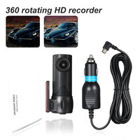 Car Dash camera Car DVR Registrar HD USB 170 Degree Wide Angle Night Vision Car Driving Recorder Dash Cam Hidden Car Camera