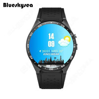 Blueskysea KW88 Fashion Wifi Bluetooth Smart Horloge 2.0MP Camera GPS Sim-kaart Voor Android IOS Telefoons T2 met Ingesloten speaker
