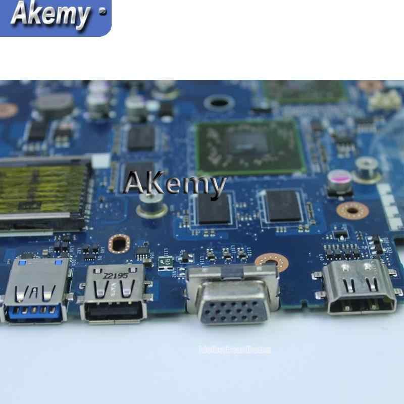 Akemy  usb board+LA-7552P REV:1.0 Laptop motherboard for ASUS K53TA K53TK K53T K53 Test original mainboard 1GB Video card HD6470
