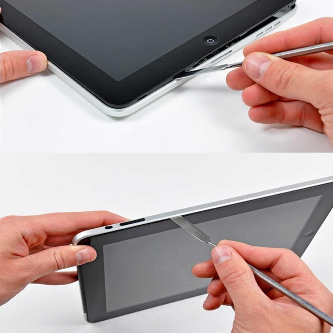 Membongkar Alat Spudger Logam Diy Ponsel Pembukaan Pry Alat Perbaikan untuk iPhone/Ponsel/Laptop/Tablet Tangan alat