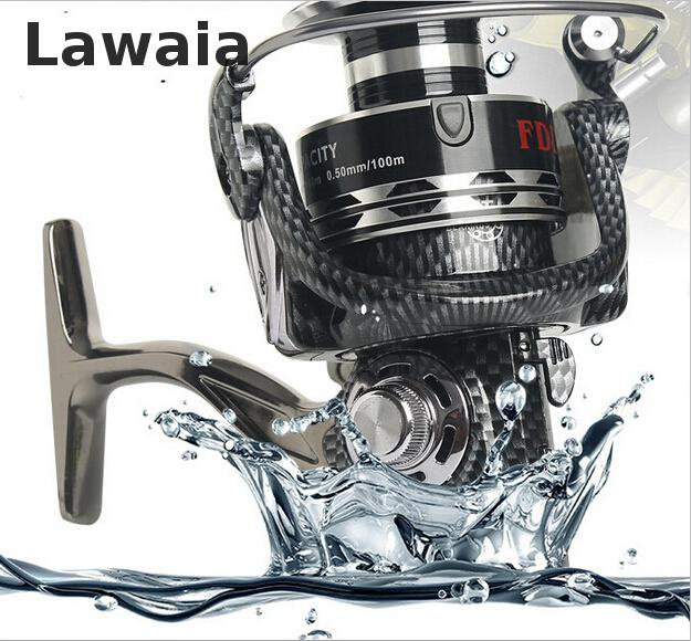Lawaia 12 + 1 Axis Metal Fishing Vessel, Seamless Spinning Wheel,spinning Reel Fishing Line Spooler Speed Ratio 5.3: 1