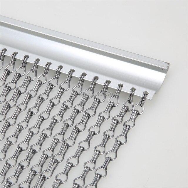 Chaîne en aluminium Porte Moustiquaire/Chaîne De Rideau En Aluminium ...