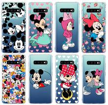 Couple cartoon Patterned Phone Cases For SamSung S10 S8 S9 Plus M10 20 S6 S7 Edge A5 2017 A6 2018 Soft TPU Silicone Cover(China)