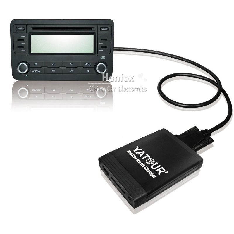 Yatour YT-M06 For BMW Rover 75 17-pin E36 E46 E39 E38 X3 X5 E83 Z3 Car USB MP3 SD AUX adapter Digital CD Changer interface
